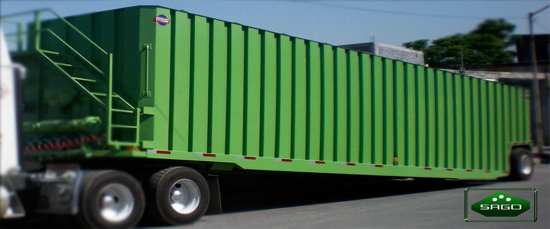 Fabricación de contenedores oara trailers en monterrey